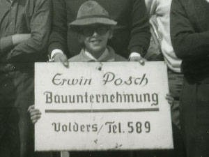 Holzbau Posch - Tirol, Volders - Firmengeschichte - Gründung - Bauen mit Holz - 1961