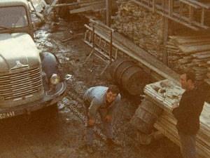Holzbau Posch - Tirol, Volders - Firmengeschichte - Übernahme Erwin Posch jun. - Bauen mit Holz 1976