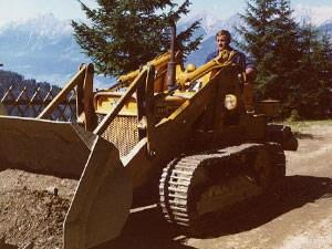 Holzbau Posch - Tirol, Volders - Firmengeschichte - Bauen mit Holz 1981