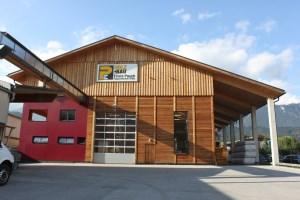 Holzbau Posch - Tirol, Volders - Firmengeschichte - Abbundhalle - Bauen mit Holz 2013
